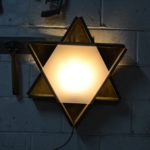 lampe étoile murale