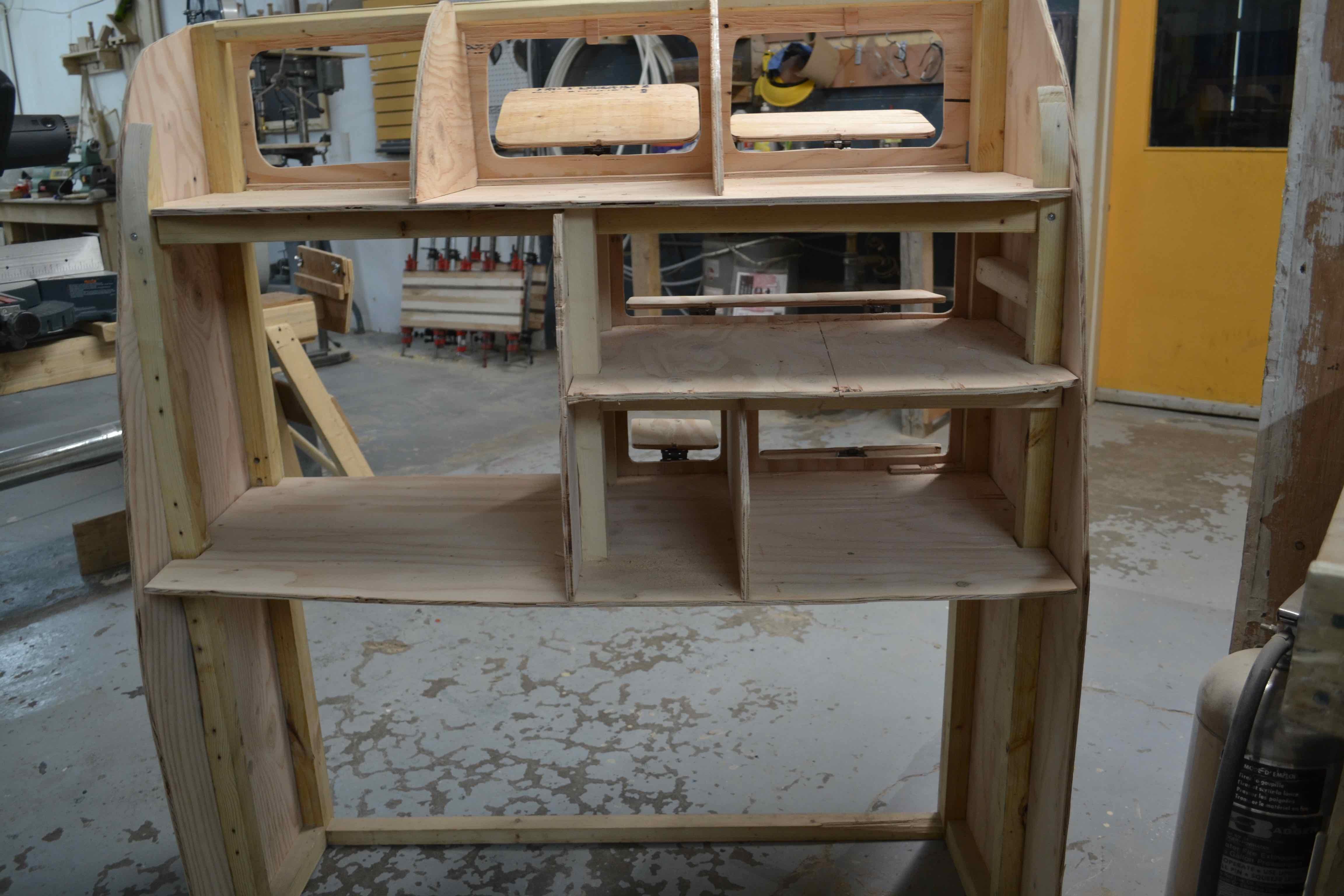 Escargomotisation: création des meubles