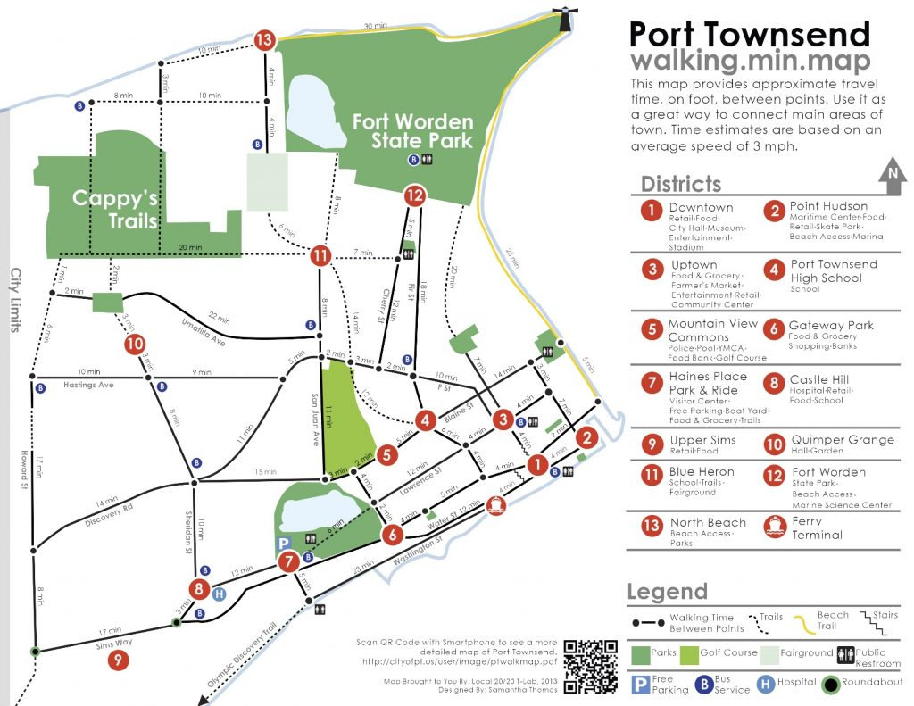 Locla 20/20 Port Townsend map