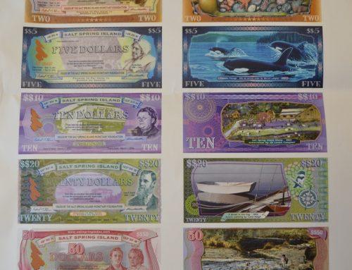 Le Salt Spring dollar, une monnaie locale au Canada