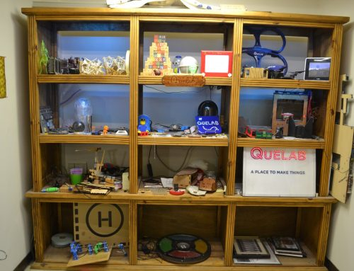 Quelab a makerspace in Alquerque, New-Mexico