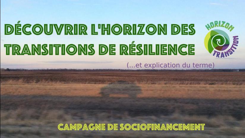 (Français) Lancement officiel du projet Horizon Transition!