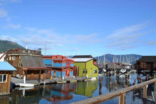 A la rencontre du groupe de transition Cowichan, île de de Vancouver, Canada